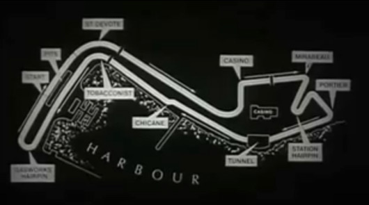 monaco gp circuit. Graham Hill, 1968 Monaco GP