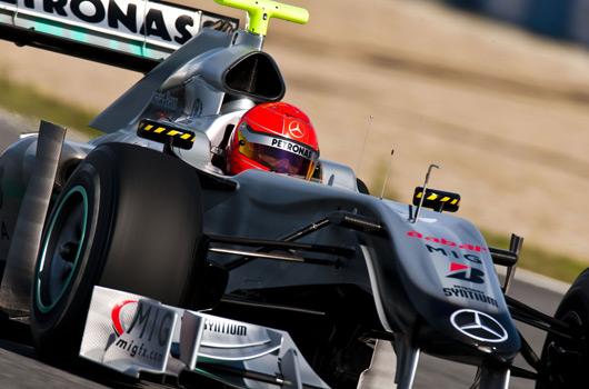 F1 pre-season testing, Jerez, February 2010