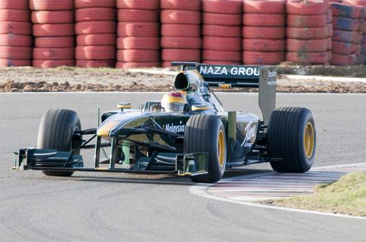 Lotus Cosworth T127