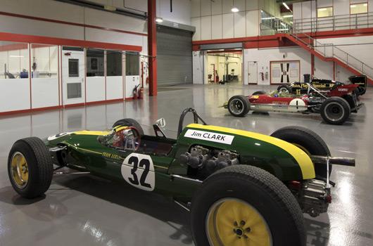 Lotus Racing factory