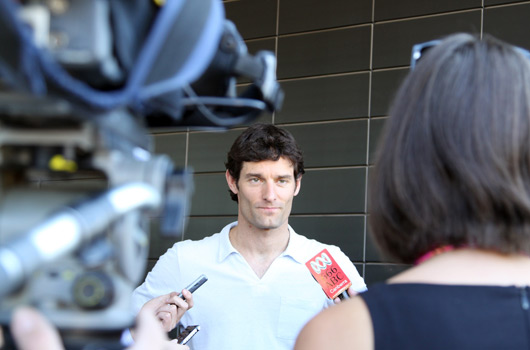 Mark Webber, Queanbeyan, March 2010