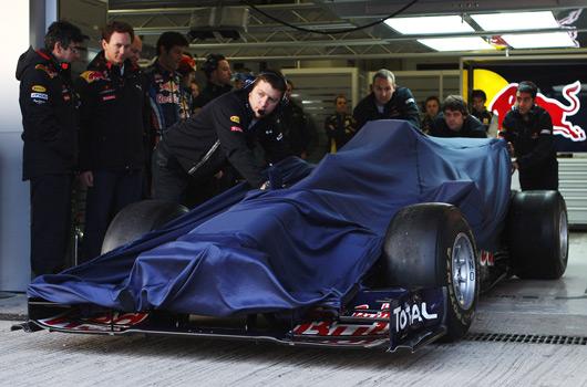 Red Bull Racing RB6 - 2010 F1 car