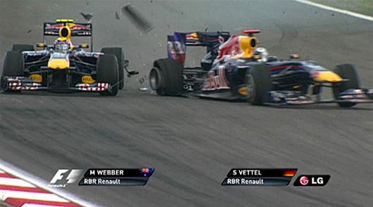 Red Bull Racing - Turkish GP crash