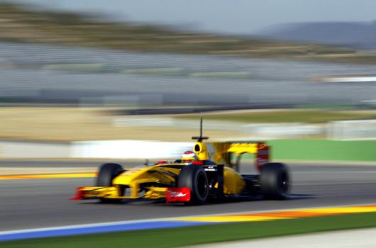 F1 testing @ Valencia