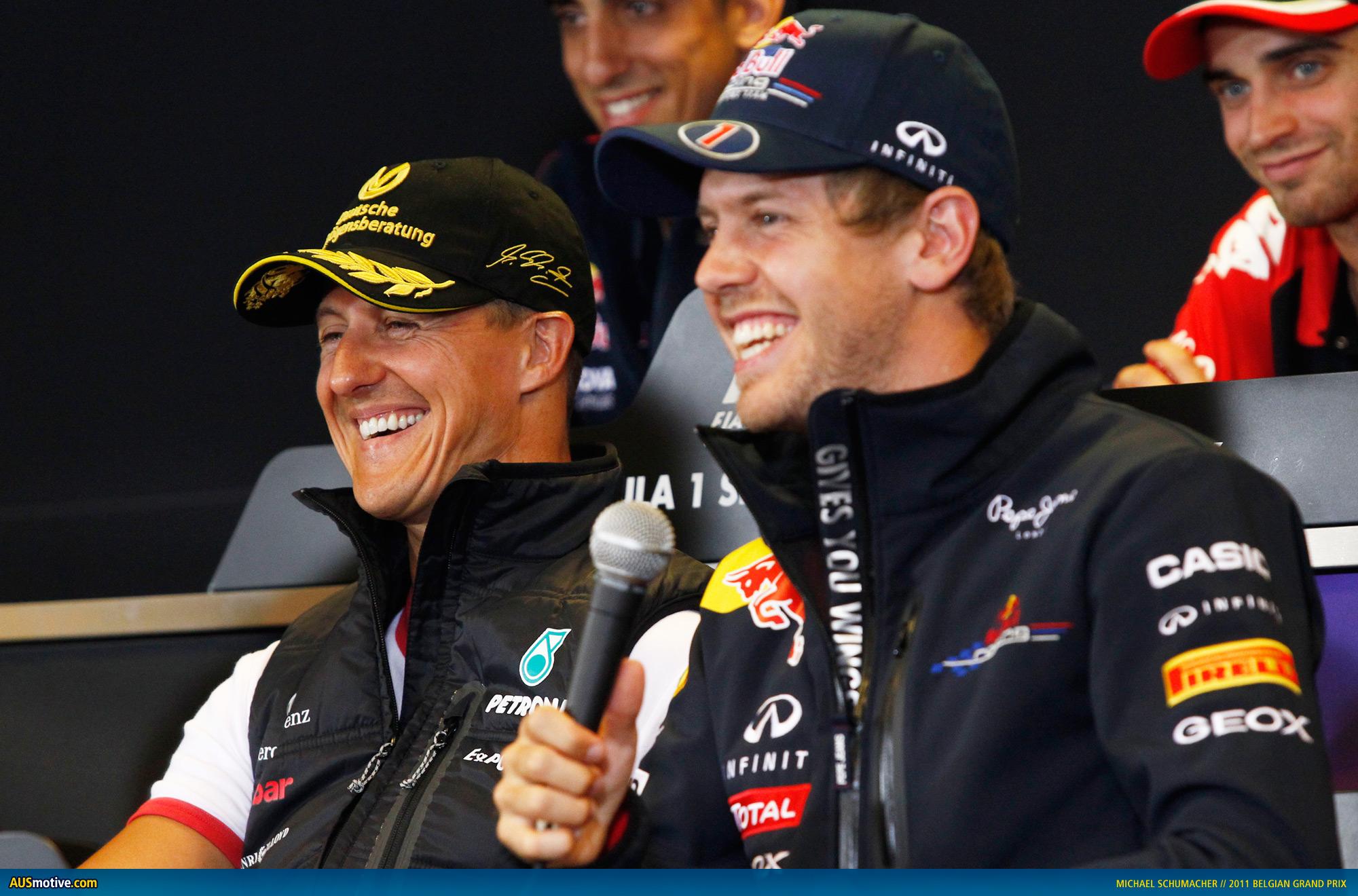 Belgian Grand Prix Circuit >> AUSmotive.com » Michael Schumacher on 20 years in F1