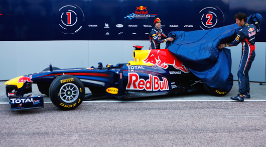 Red Bull Racing RB7 launch