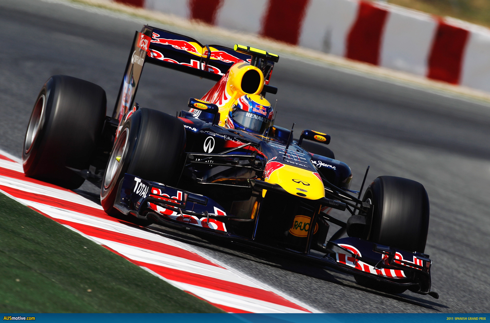 mark webber claims pole for spanish grand prix. Black Bedroom Furniture Sets. Home Design Ideas