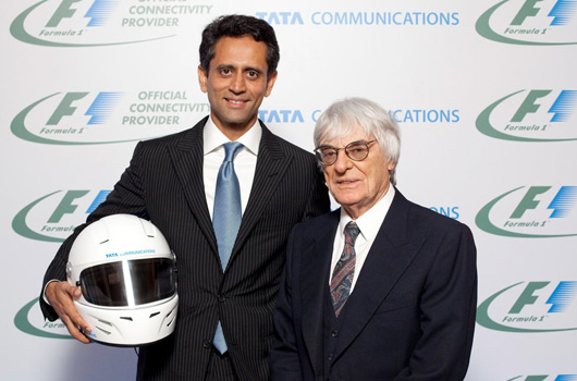 F1 signs long-term deal with Tata Communications