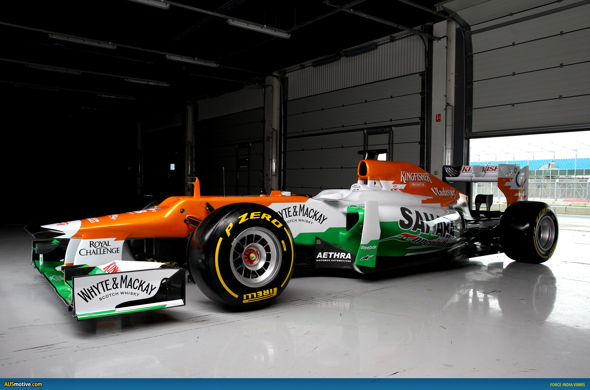 force india unveils 2012 f1 car. Black Bedroom Furniture Sets. Home Design Ideas