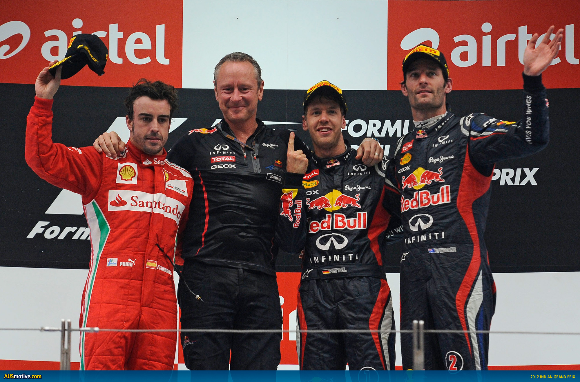 Infiniti Red Bull Racing Takes Two Titles in India