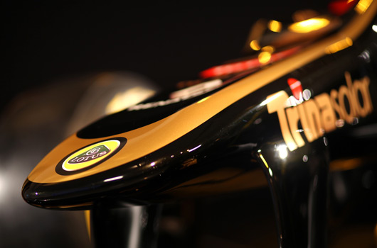 2012 Lotus F1 Team E20 launch
