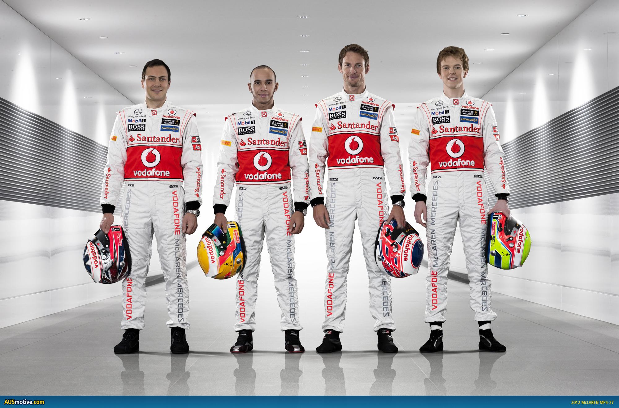 Ausmotive Com 187 Mclaren Unveils 2012 F1 Car