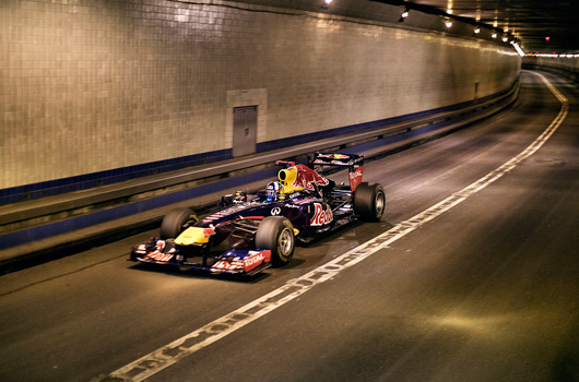 Red Bull Racing visits New York City