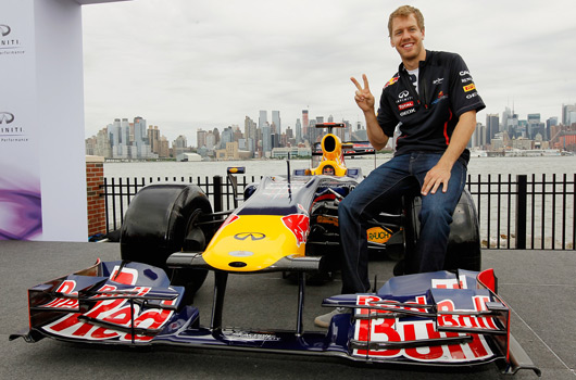 Red Bull and Infiniti preview Grand Prix of America, NYC
