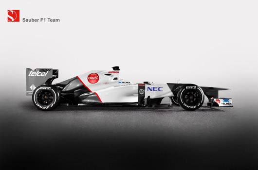 Sauber C31 launch