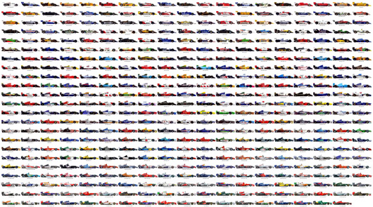 All Formula 1 cars from 1950-2013