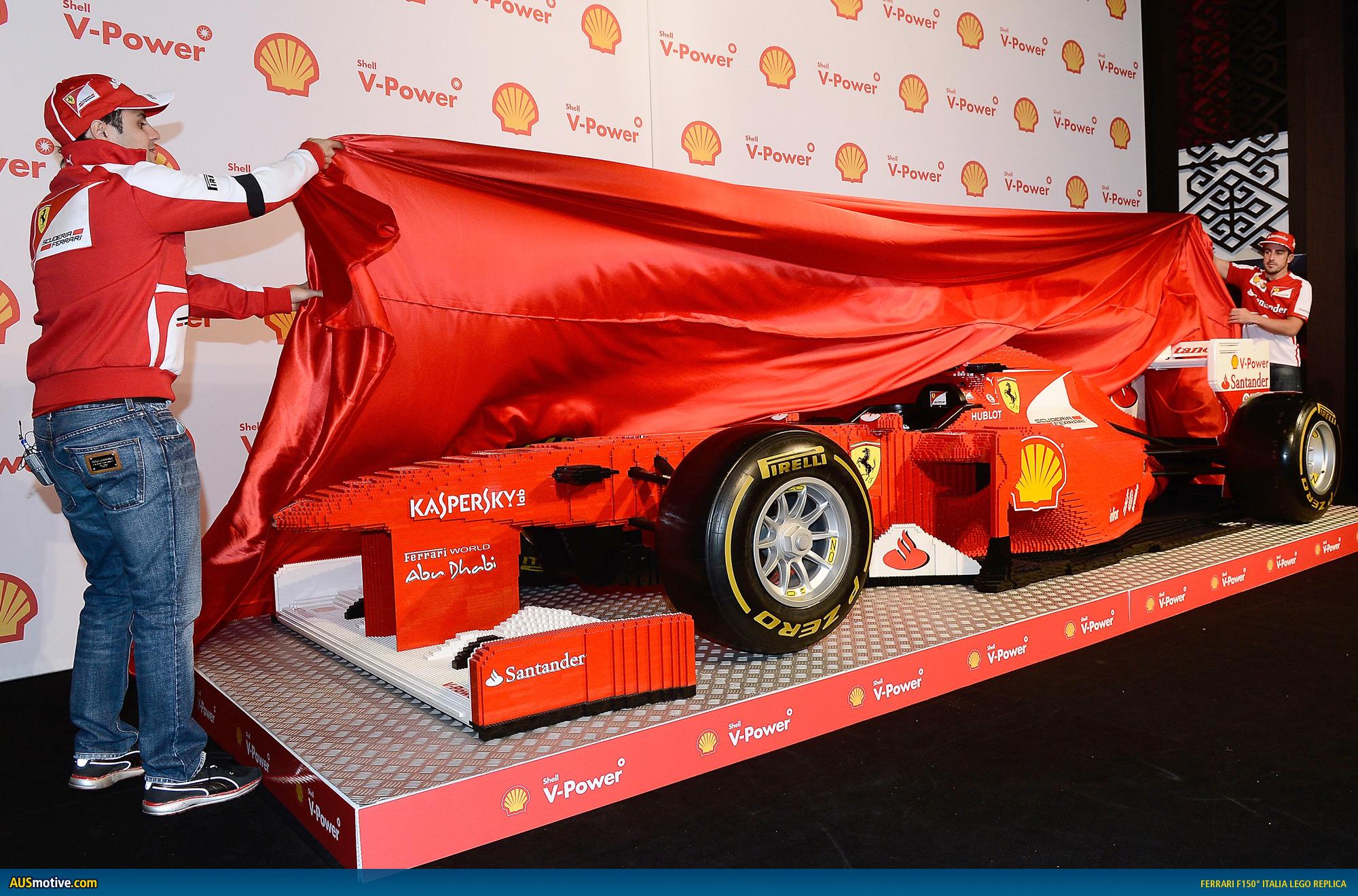 Ausmotive Com 187 Ferrari Builds F150 176 Italia Replica In Lego