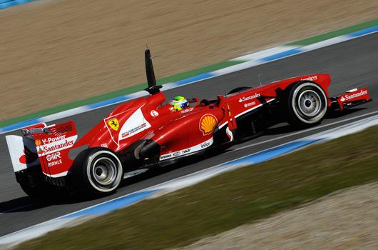 Felipe Massa, Ferrari F138, Jerez