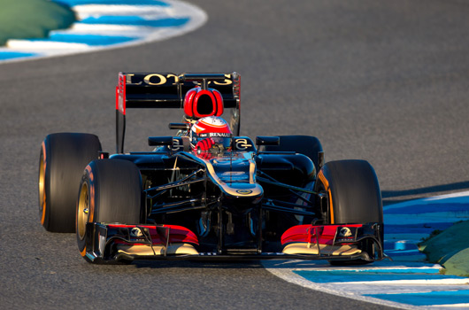 Romain Grosjean, Lotus E21, Jerez