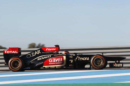Kimi Raikkonen, Lotus E21, Jerez