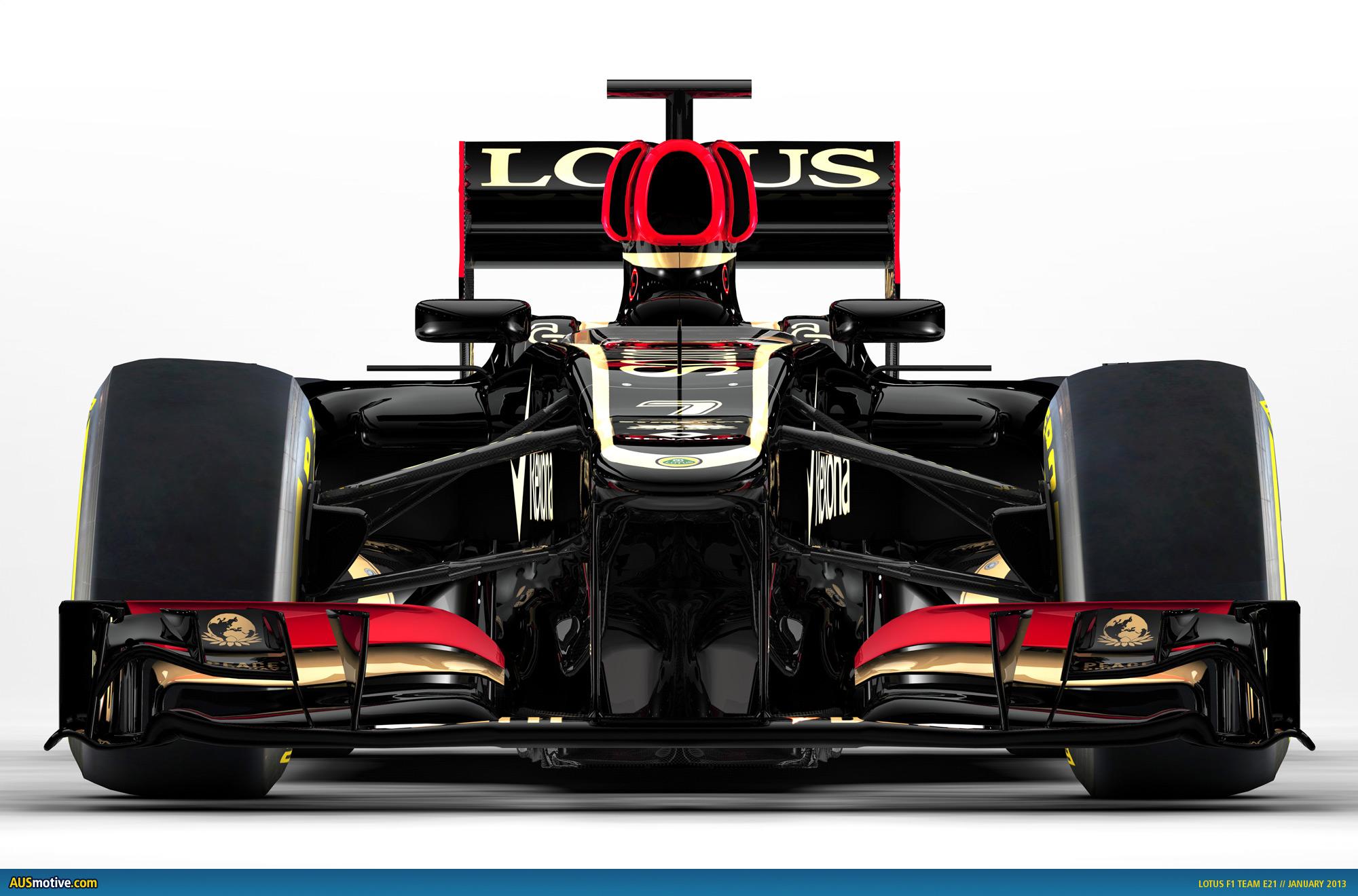 Ausmotive Com 187 Lotus Unveils 2013 F1 Car