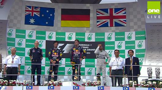 Sebastian Vettel wins 2013 Malaysian GP