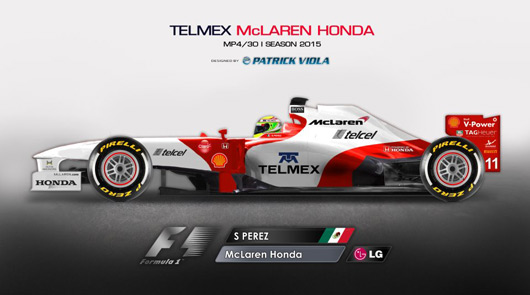 McLaren-Honda concept livery