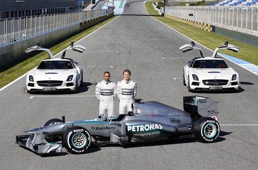 Mercedes AMG Petronas F1 W04