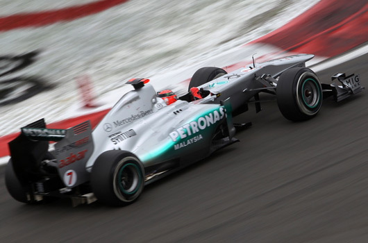 2011 Mercedes GP W02