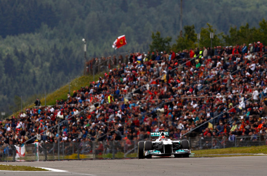 2011 Mercedes GP W02