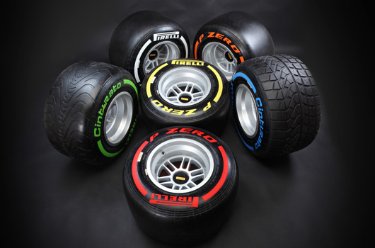 2013 Pirelli F1 tyres