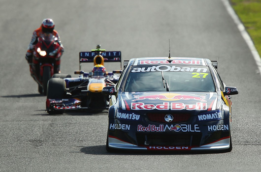 Red Bull Racing at 2013 Top Gear Festival in Sydney