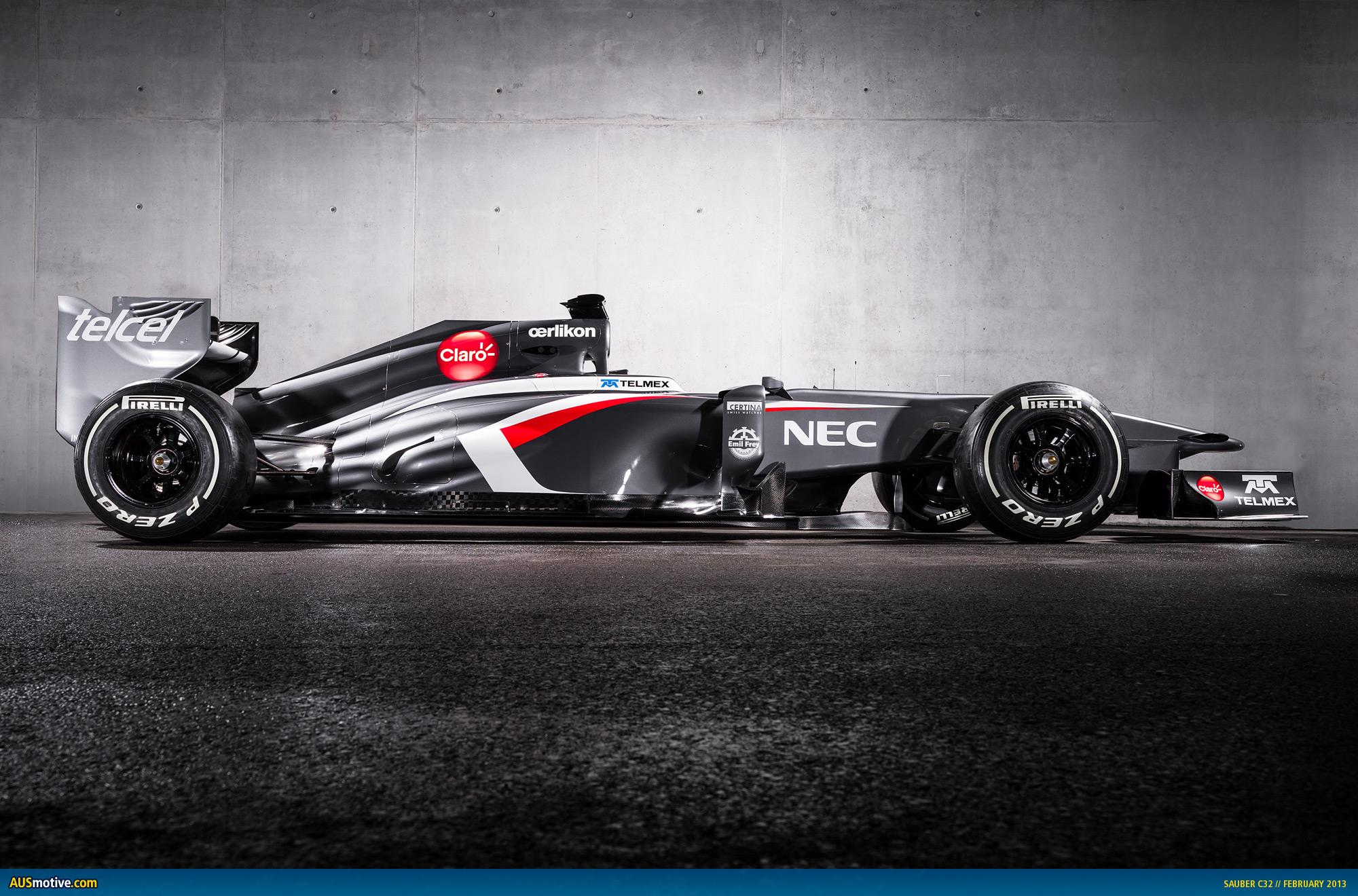 Ausmotive Com 187 Sauber Unveils 2013 F1 Car