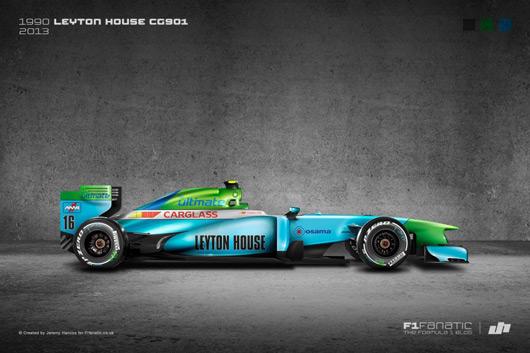 Restyled F1 livery by Jeremy Hancox