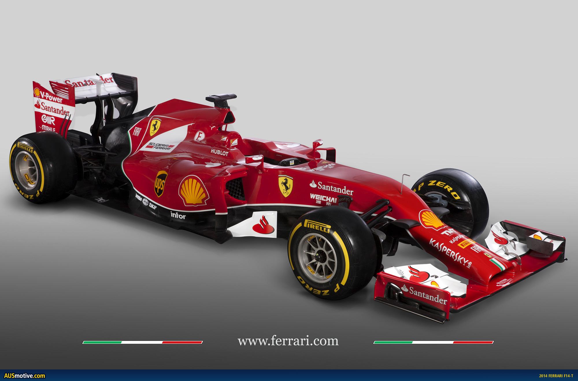 2014 Ferrari F14 T