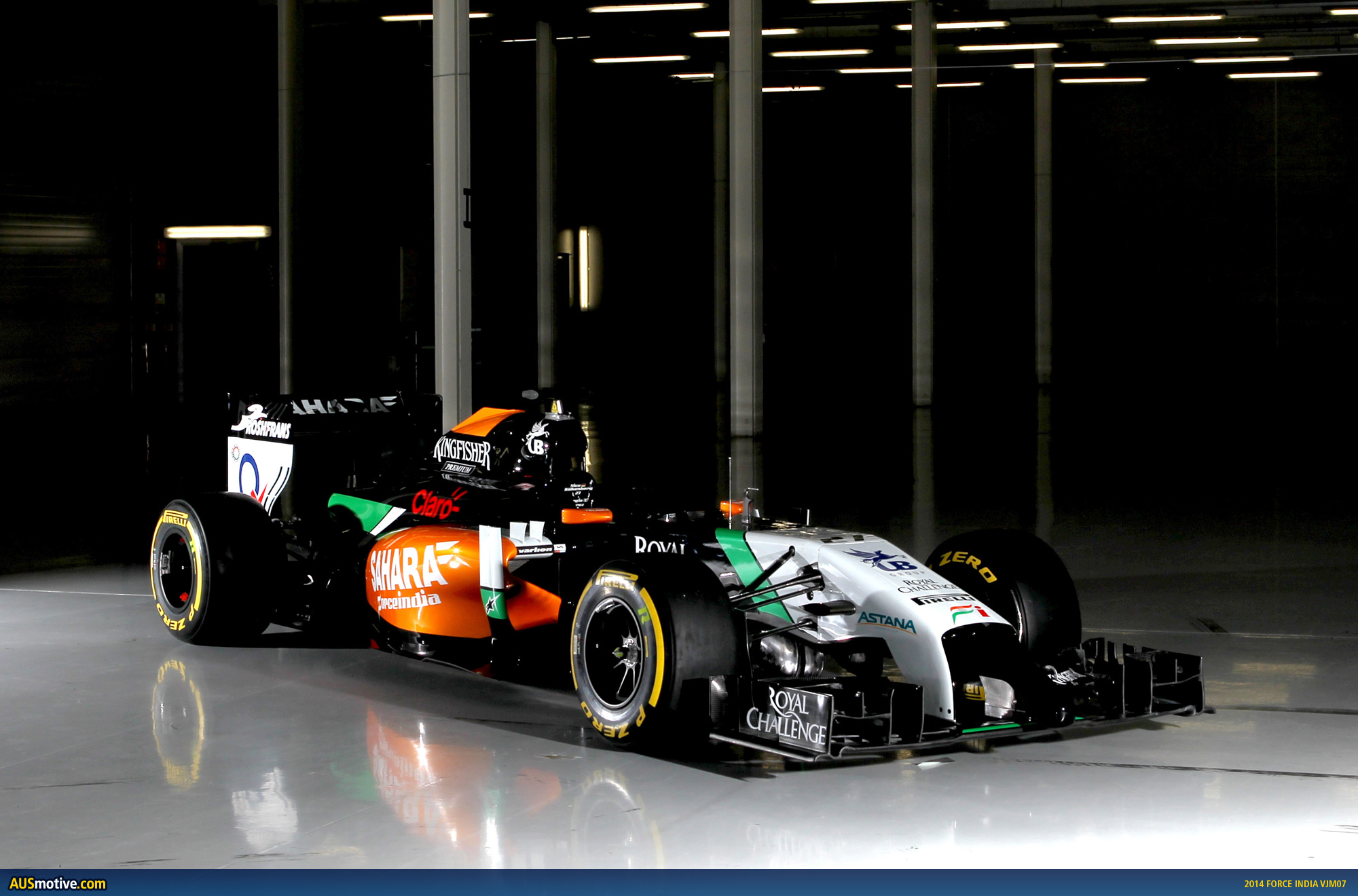 2014 force india vjm07 revealed. Black Bedroom Furniture Sets. Home Design Ideas
