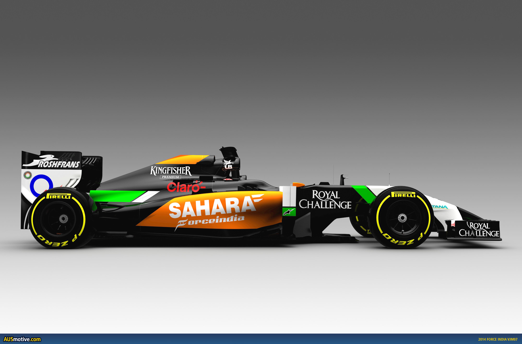 2014 force india vjm07 previewed. Black Bedroom Furniture Sets. Home Design Ideas