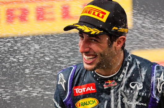 Daniel Ricciardo, 2014 Hungarian Grand Prix