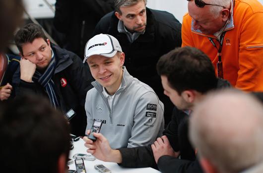 Kenin Magnussen, McLaren MP4-29