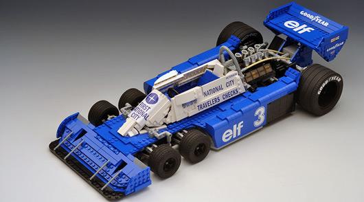RoscoPC Formula 1 Lego MOC