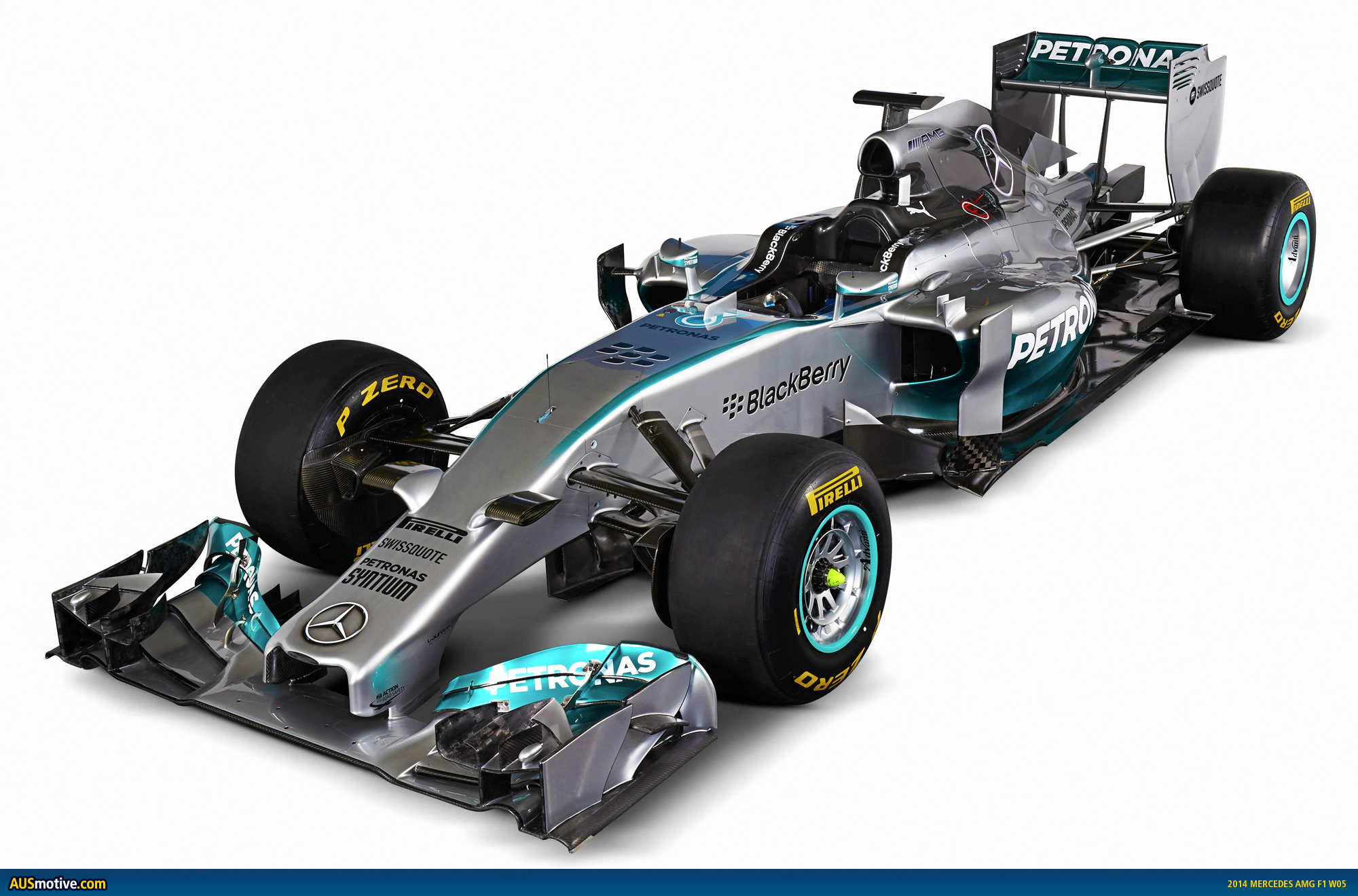 2014 mercedes amg f1 w05 revealed for Mercedes benz f1
