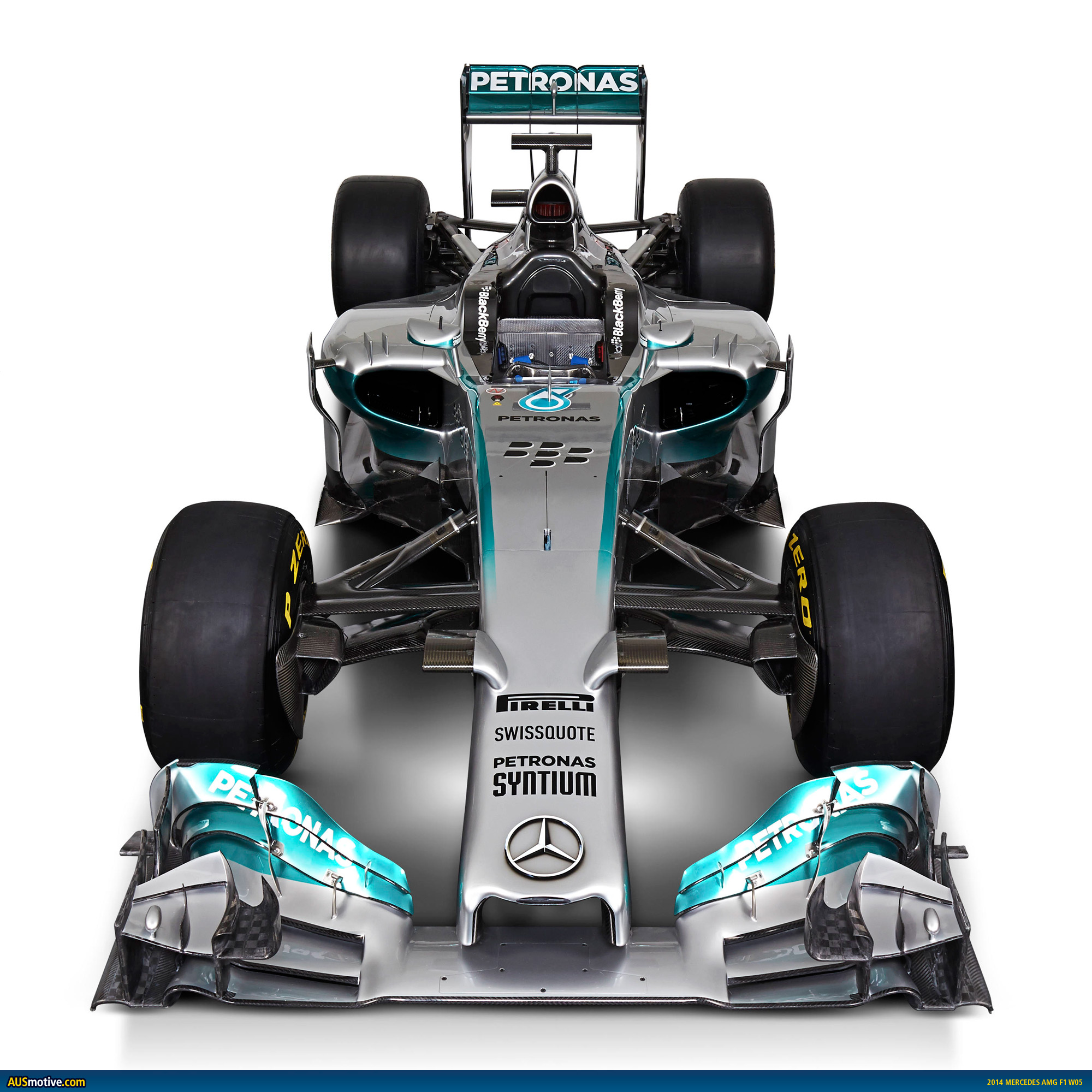 Ausmotive Com 187 2014 Mercedes Amg F1 W05 Revealed