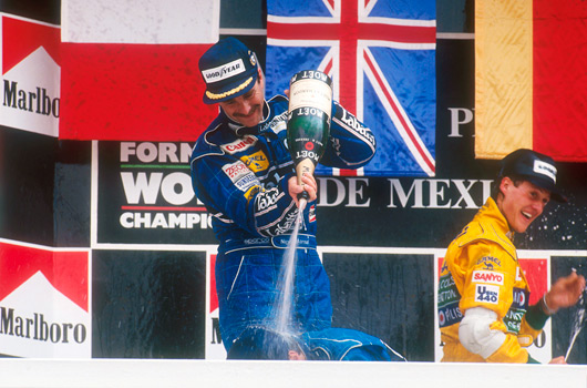Nigel Mansell wins 1992 Mexican Grand Prix