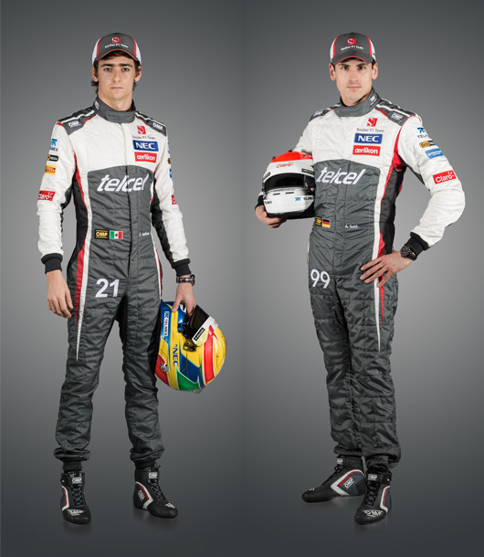 Esteban Gutierrez and Adrian Sutil
