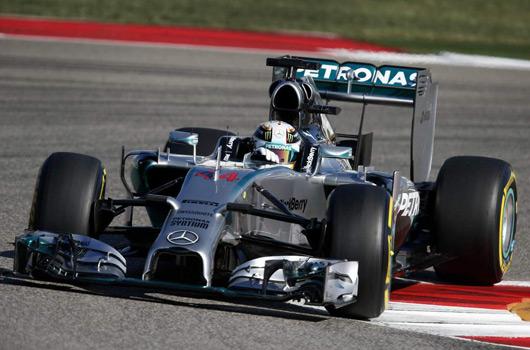 Lewis Hamilton wins 2014 United States Grand Prix