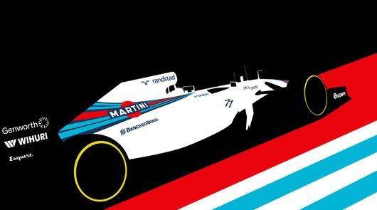 ausmotivecom 187 williams martini racing fw36 as art