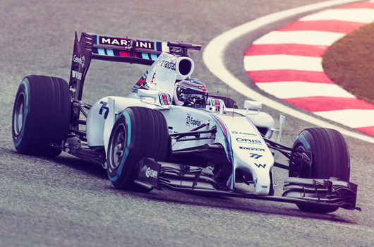 2014 Williams Martini Racing FW36
