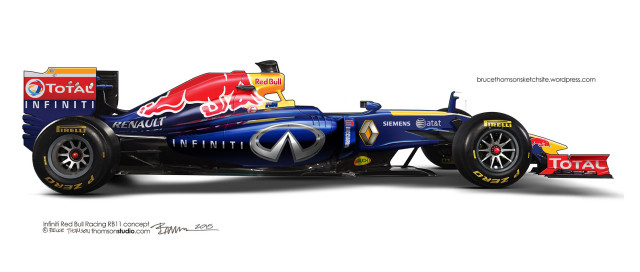 Red Bull Racing RB11 by Bruce Thomson