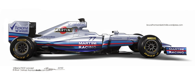 Williams FW37 by Bruce Thomson