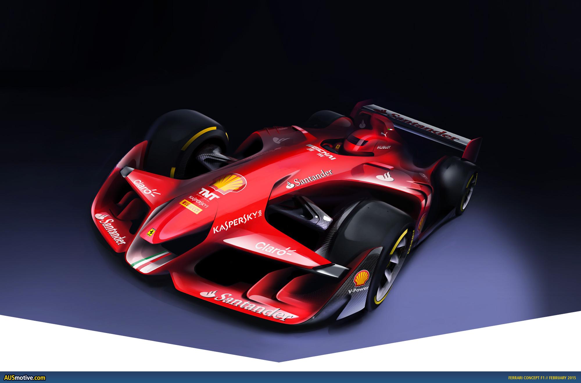 Ausmotivecom Ferrari Concept F1